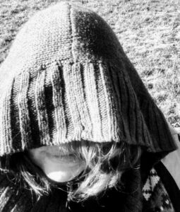 2019 Sandra hooded face