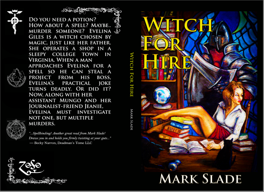 WITCH FOR HIRE PUBLISHER'S FINAL COVER